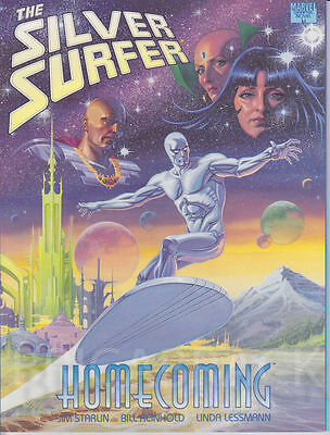Marvel Graphic Novel: Silver Surfer Homecoming (1991)