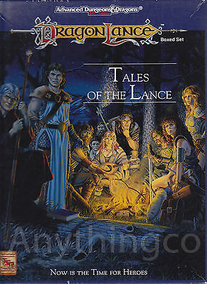 AD&D - 1074 - Draconlance Boxed set - Tales of the lance