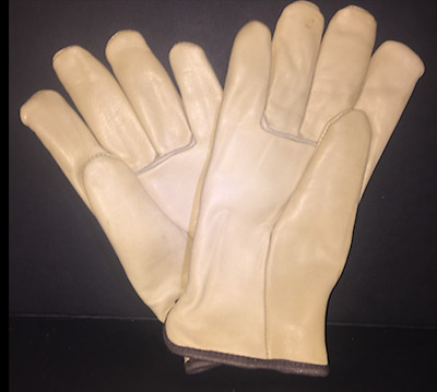 X-Large Soft Pigskin Winter Insulated Lined Leather Work Driver Glove Men Women
