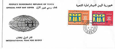 1972 Yemen - Int'l Year for Books FDC