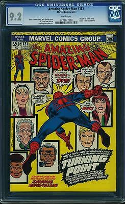 The Amazing Spider-Man #121 CGC 9.2 NM- near mint Death of Gwen Stacy 0273077004