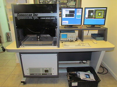 Upgraded Sonoscan D6000 Scanning Acoustic Microscope (C-SAM)