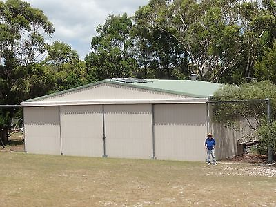 Aircraft Hangar with attached Bedsit.