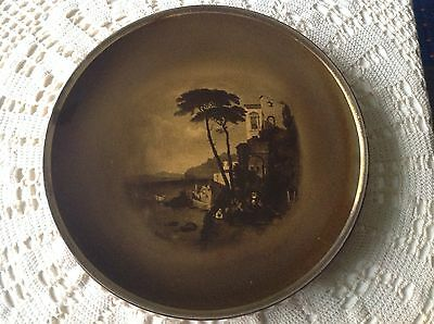 """Antique Royal Vistas Ware. From Paintings By Famous Artists """"amalfi"""" Plate"""