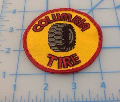 Columbia Tire Embroidered Patch