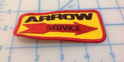 Arrow Service Embroidered Patch