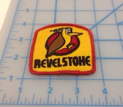Revelstoke Lumber Embroidered Patch Vintage