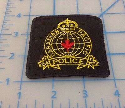 Canadain Pacific Police Embroidered Patch