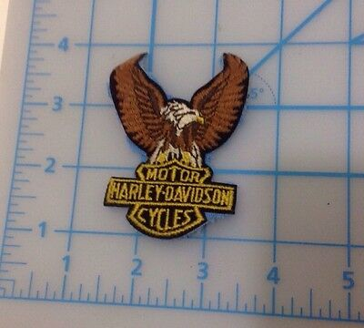 Harley Davidson Motor Cycles Embroidered Patch
