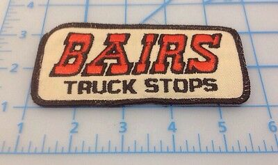 Bairs Truck Stop Embroidered Patch