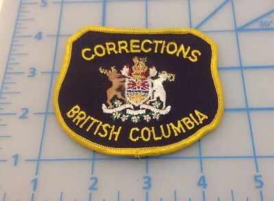 Corrections British Columbia Embroidered Patch