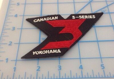 Canadian 3 Series Yokohama Embroidered Patch