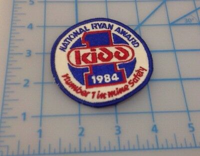 National Ryan Award 1984 Embroidered Patch