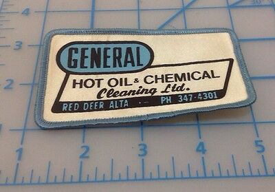 General Hot Oil & Chemical Cleaaning Ltd. Red Deer Alta Patch