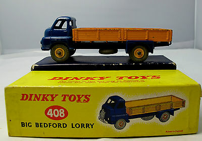 Original (NOT ATLAS)  Dinky Toys 408 Big Bedford Lorry - Boxed (1571)