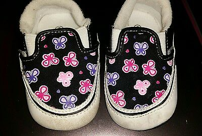 "@@ Baby Girl ""vans"" Shoes Size 3 - Brand New @@"