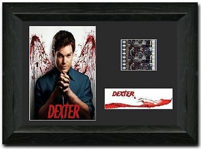 Dexter 35 mm Framed Film Cell Display Stunning Collectible Dexter Morgan Signed