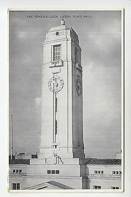 Beds: The Tower & Clock, Luton Town Hall - E.T.W. Dennis PC (1141)