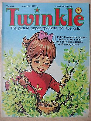 TWINKLE - 28th MAY 1977 (28th may - 3rd june) - RARE LADY'S 40th BIRTHDAY GIFT!!