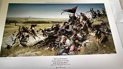 THE LAST COMMAND - CUSTER'S LAST STAND by Stirnweis Limited edition Art Print
