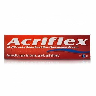Acriflex Antiseptic Cream for burns, scalds & blisters - 30g**Free Post**