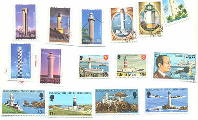 Lighthouses-Collection 40 all differerent