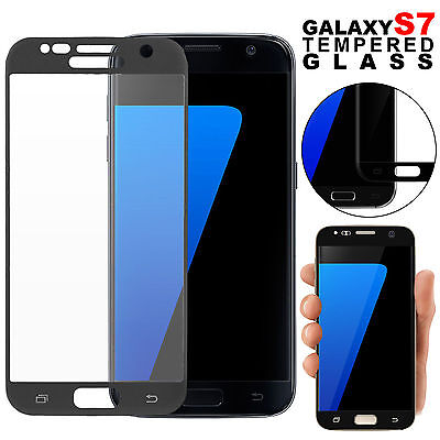 Full Screen Coverage Tempered Glass Screen Protector Guard for Samsung Galaxy S7