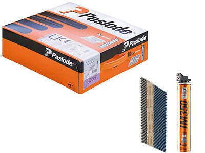 Paslode IM350 141227 3.1mm x 75mm Galv Ring Nails (2200 Per Box + 2 x Gas)