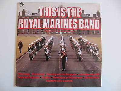This is the Royal Marines Band (1980) LP
