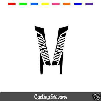 RockShox 2015/2016 Style Suspension Fork Decal/Stickers | Replacement | BOXXER