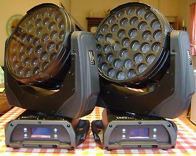 Chauvet Q-Wash 436Z LED Moving Head Wash Lights Pair REDUCED!