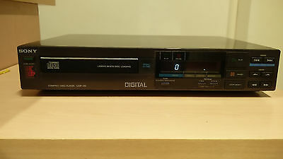 Lettore CD CDP-30 SONY Cd Player vintage - perfetto stato come nuovo