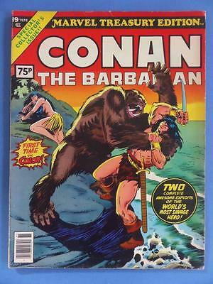 Marvel Treasury 19 1978 Conan The Barbarian Alex Nino!