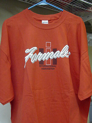 INTERNATIONAL HARVESTER RED FARMALL T-SHIRT, NEW, SIZE  2x