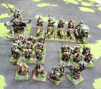 Warhammer Fantasy Age of Sigmar Well Painted Ogre Kingdoms Army