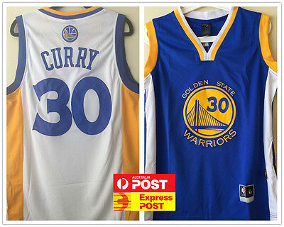#30 Stephen Curry, Golden State Warriors NBA Jersey ADULT KID AU STOCK