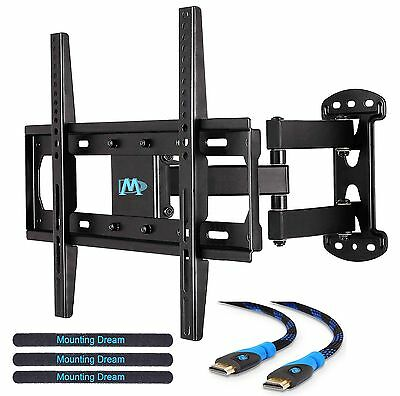 Mounting Dream MD2377 TV Wall Mount Bracket with Full Motion Articulating Arm...