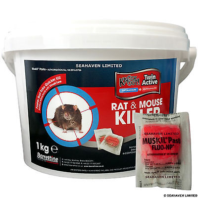 100 x 10g RAT & MOUSE Killer Pasta POISON for Control of Rodents - PRO STRENGTH