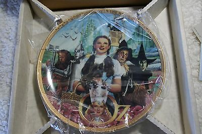 THE WIZARD OF OZ - 50th Anniversary Plate - Hamilton Collector Plates NEW