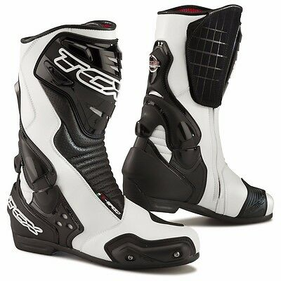 TCX S-Speed New Bike Motorcycle Racing Boots White size 43 Euro