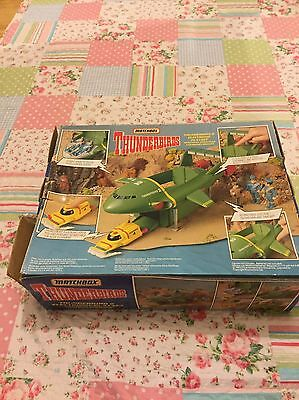 Thunderbirds Matchbox Supersize Thunderbird 2 Electronic Playset 1992 Boxed