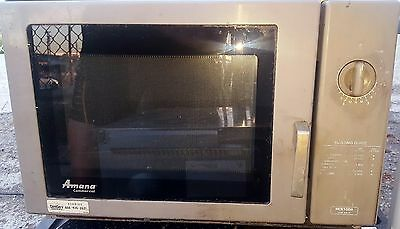 Amana RCS10DA Commercial Restaurant Microwave Oven 1000W 1.2 Cubic Feet Space