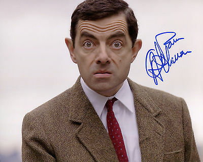 Rowan Atkinson - Mr. Bean - Mr. Bean's Holiday - Signed Autograph REPRINT
