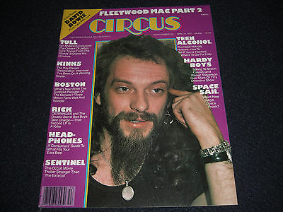 Circus Magazine David Bowie Poster Tull  Kinks  Fleetwood Mac 1977