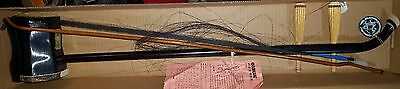 Erhu Dunhuang Brand Chinese Violin Fiddle Instrument Bow Box Snakeskin