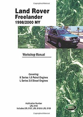 Land Rover Freelander 98-00 Official Workshop Manual Copertina flessibile