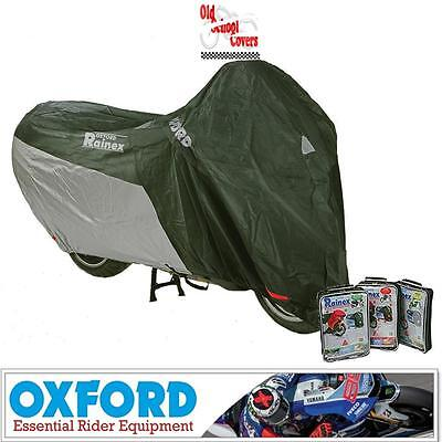 Oxford Rainex Deluxe Small Outdoor Rainproof Motorcycle Cover Ideal For Scooters