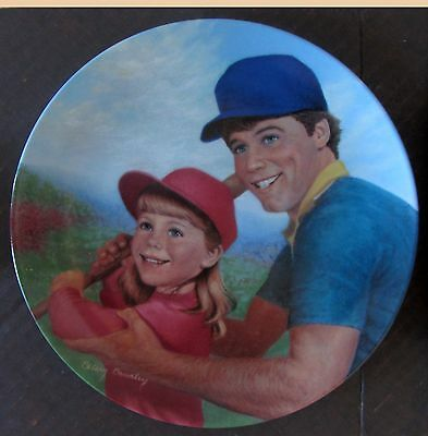 Batter Up, A Father's Love Collector Plate Betsy Bradley COA Vintage