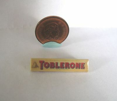 Dollhouse Barbie Miniature Toblerone Chocolate Bar 1:12 Or 1:6 Scale