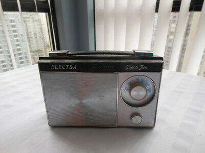 Vintage Transistor Radio By Electra Solid State